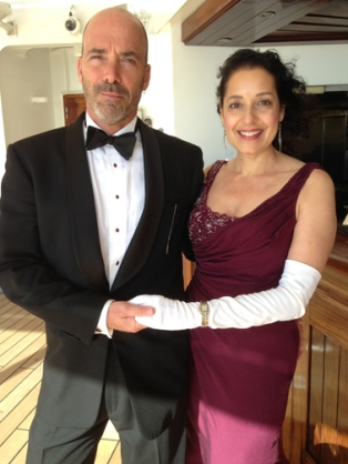 Tim Munn and Lisa Simeone
