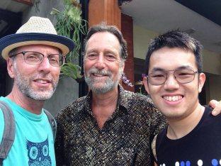 The lovely Joel Singer meeting us for lunch.