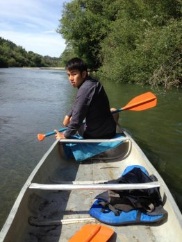 Canoeing the Russian River in California